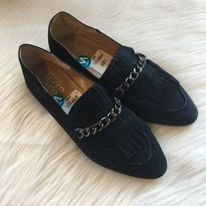 NWT Franco Sarto loafers pointy toe 8.5 wide